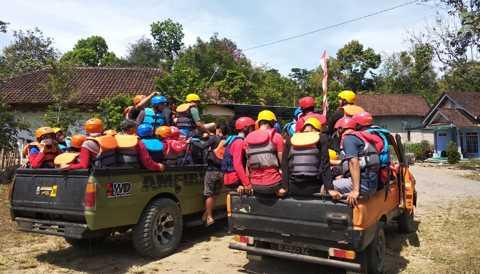 Loading_Rafting_Banyuwangi